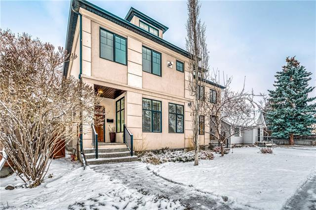 612 19 Avenue NW, Calgary, AB T2M 0Y8 (#C4215722) :: Your Calgary Real Estate