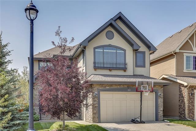 89 West Coach Way SW, Calgary, AB T3H 0M9 (#C4215724) :: Calgary Homefinders