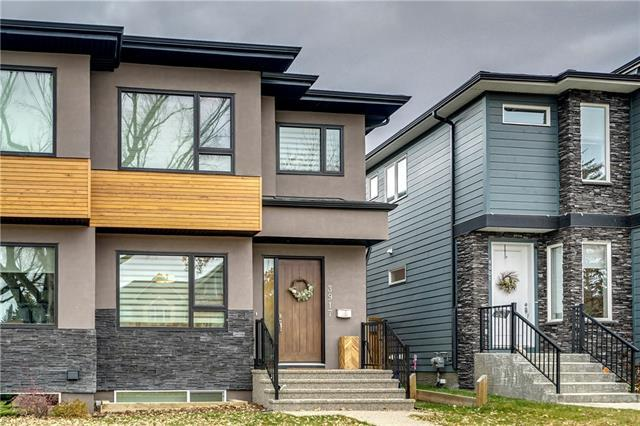 3917 2 Street NW, Calgary, AB T2K 0Y7 (#C4215833) :: Your Calgary Real Estate