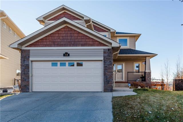 159 Sunset Circle, Cochrane, AB  (#C4215853) :: Calgary Homefinders