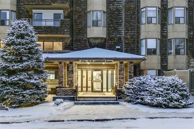 3730 50 Street NW #104, Calgary, AB T3A 2V9 (#C4215862) :: Your Calgary Real Estate