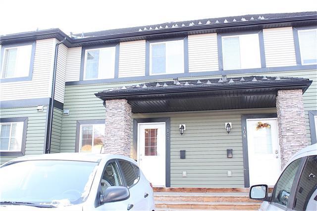 140 Sagewood Boulevard SW #107, Airdrie, AB T4B 3H5 (#C4215885) :: Calgary Homefinders