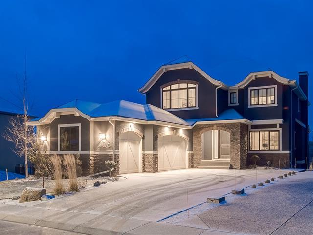 206 Valley Pointe Way NW, Calgary, AB T3B 6B3 (#C4215887) :: Canmore & Banff