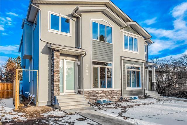 2408 22 Street NW, Calgary, AB T2M 2M3 (#C4215908) :: Tonkinson Real Estate Team