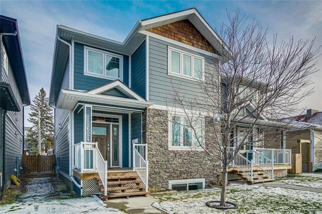 2624 24 Street SW, Calgary, AB T2T 5H9 (#C4215925) :: Tonkinson Real Estate Team