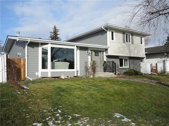 10719 Mapleford Road SE, Calgary, AB T2J 1X6 (#C4215937) :: The Cliff Stevenson Group