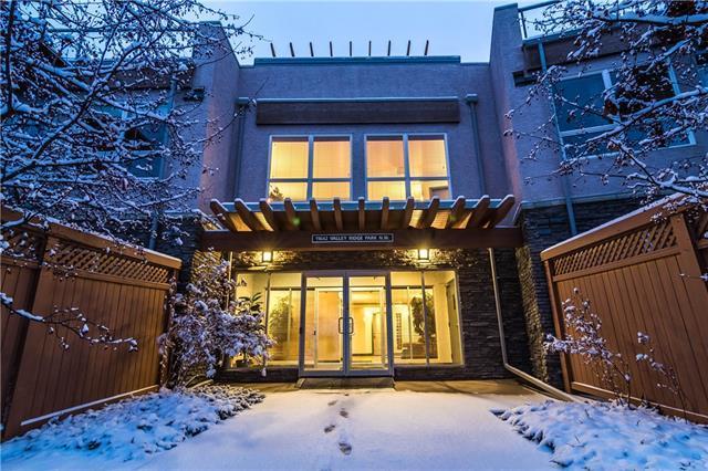 11642 Valley Ridge Park NW #212, Calgary, AB T3B 5Z2 (#C4215942) :: Canmore & Banff