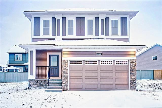 202 Bayside Loop SW, Airdrie, AB T4B 3E5 (#C4216026) :: Canmore & Banff