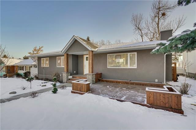 76 Cardiff Drive NW, Calgary, AB T2K 1R7 (#C4216076) :: Canmore & Banff