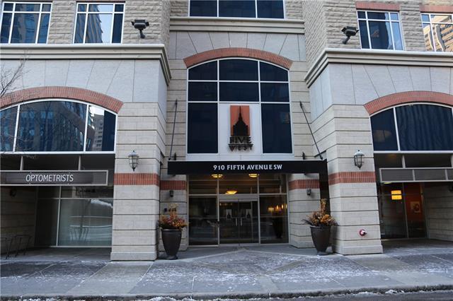 910 5 Avenue SW #1202, Calgary, AB T2P 0C3 (#C4216079) :: Calgary Homefinders