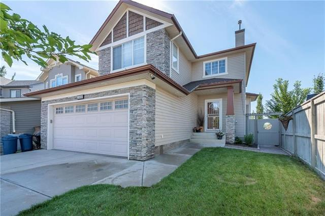 2608 Coopers Circle SW, Airdrie, AB T4B 3K2 (#C4216118) :: The Cliff Stevenson Group