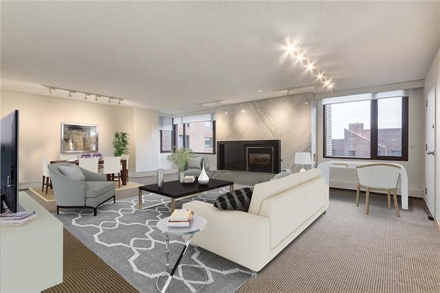500 Eau Claire Avenue SW 702B, Calgary, AB T2P 3R8 (#C4216133) :: Your Calgary Real Estate