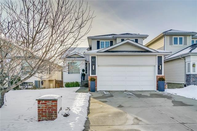 87 Citadel Drive NW, Calgary, AB T3G 3V1 (#C4216289) :: Tonkinson Real Estate Team