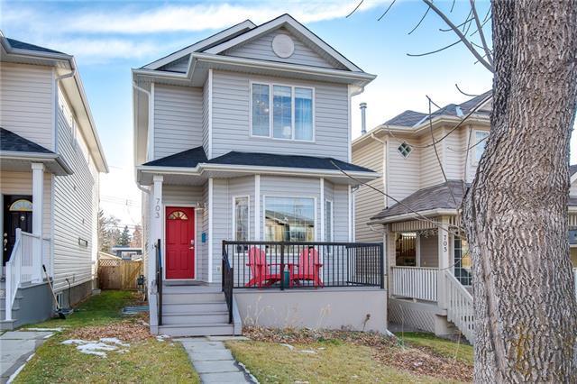 703 51 Avenue SW, Calgary, AB T2V 0A8 (#C4216361) :: The Cliff Stevenson Group