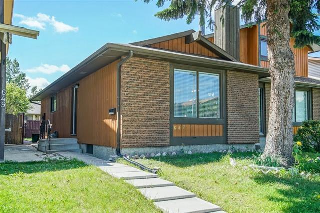 647 Whitewood Road NE, Calgary, AB T1Y 4A1 (#C4216407) :: Tonkinson Real Estate Team
