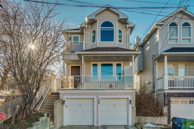 1609 25 Avenue SW, Calgary, AB T2T 0Z9 (#C4216451) :: Canmore & Banff