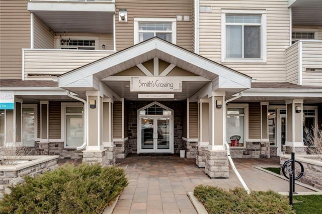 132 1 Avenue NW #306, Airdrie, AB T4B 3H4 (#C4216469) :: Canmore & Banff