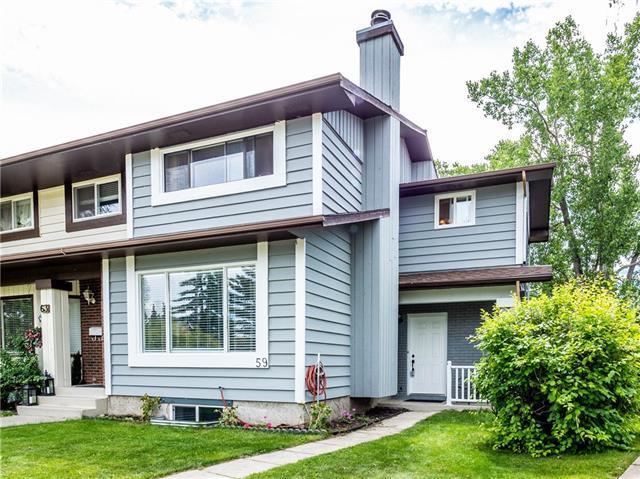 59 Coachway Road SW, Calgary, AB T3H 1B2 (#C4217538) :: Calgary Homefinders