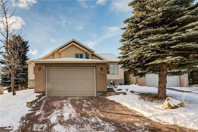 634 Stratton Terrace SW, Calgary, AB T3H 1M6 (#C4217566) :: Your Calgary Real Estate