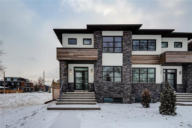 605 22 Avenue Nw Avenue NW, Calgary, AB T2M 1N8 (#C4217567) :: Canmore & Banff