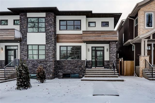 607 22 Avenue Nw Avenue NW, Calgary, AB T2M 1N8 (#C4217568) :: Canmore & Banff