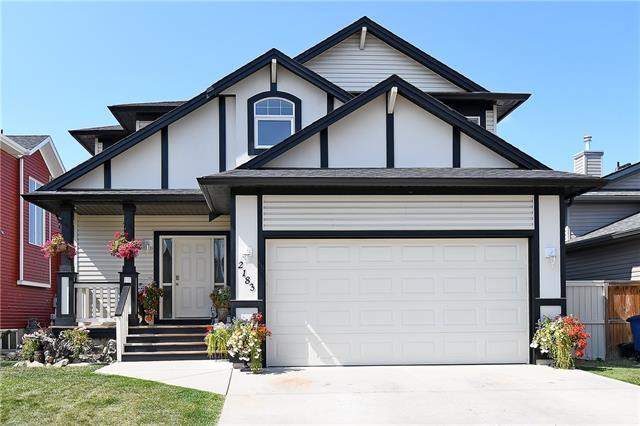 2183 Luxstone Boulevard SW, Airdrie, AB T4B 3B9 (#C4217601) :: Calgary Homefinders