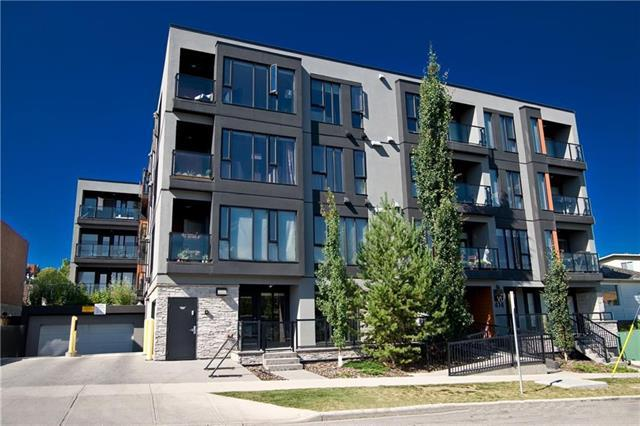 414 Meredith Road NE #404, Calgary, AB T2E 4Y7 (#C4217626) :: Redline Real Estate Group Inc