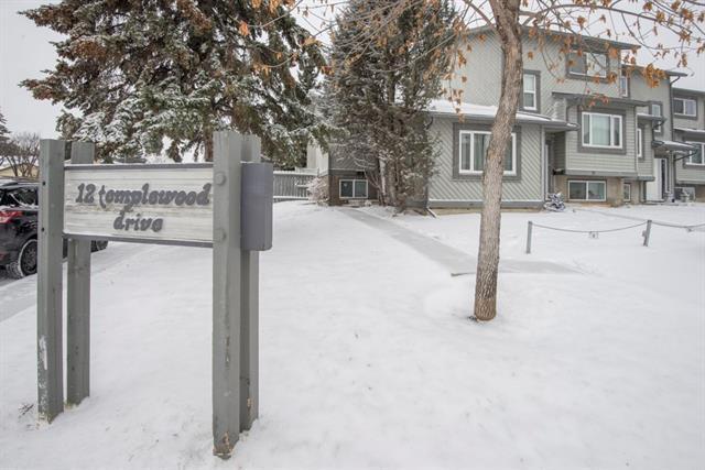 12 Templewood Drive NE #1, Calgary, AB T1Y 4R7 (#C4217632) :: Calgary Homefinders