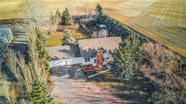 243001 Range Road 240, Rural Wheatland County, AB T1P 1J6 (#C4217661) :: Calgary Homefinders