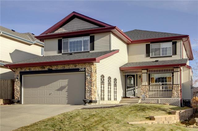 7415 Springbank Way SW, Calgary, AB T3H 4V4 (#C4217679) :: Your Calgary Real Estate