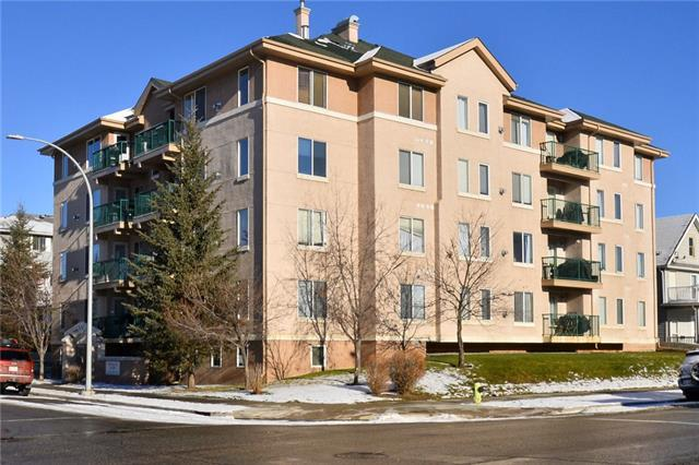 1110 17 Street SW #403, Calgary, AB T3A 5L6 (#C4217682) :: Canmore & Banff
