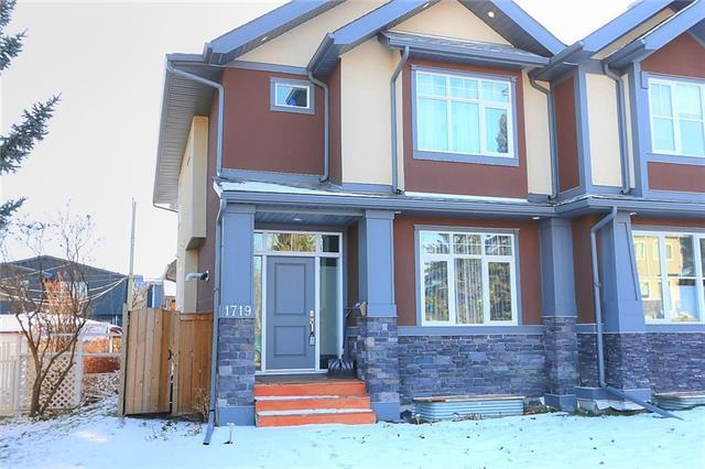 1719 20 Avenue NW, Calgary, AB T2M 1H2 (#C4217725) :: Canmore & Banff