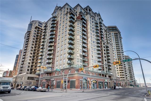1111 6 Avenue SW #514, Calgary, AB T2P 5M5 (#C4217775) :: Canmore & Banff