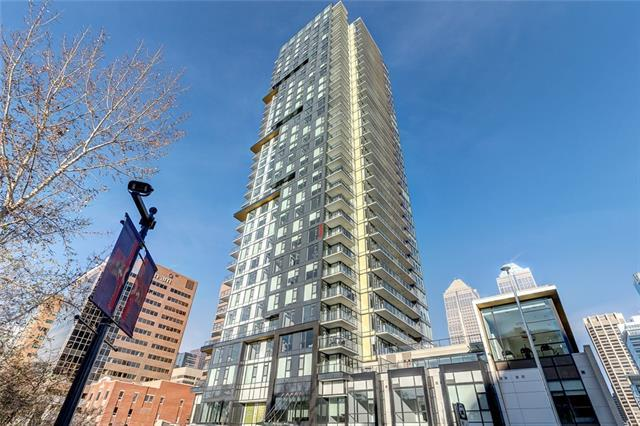 310 12 Avenue SW #2808, Calgary, AB T2R 0C7 (#C4217778) :: Your Calgary Real Estate