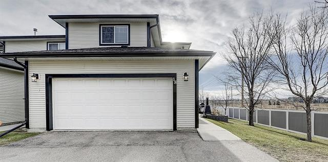 15 Silver Springs Way NW #18, Airdrie, AB T4B 2W1 (#C4217783) :: Canmore & Banff