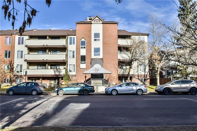 1810 11 Avenue SW #406, Calgary, AB T3C 0N6 (#C4218117) :: Canmore & Banff