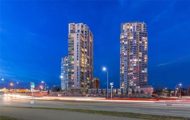77 Spruce Place SW #1705, Calgary, AB  (#C4218141) :: Redline Real Estate Group Inc