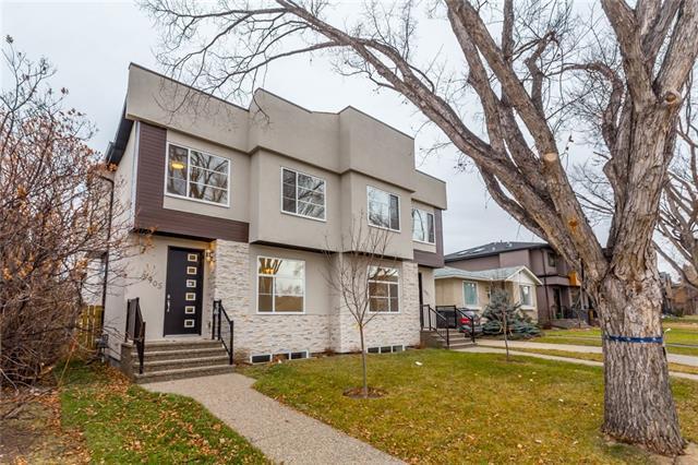 3905 2 Street NW, Calgary, AB T2K 0Y7 (#C4218217) :: Redline Real Estate Group Inc