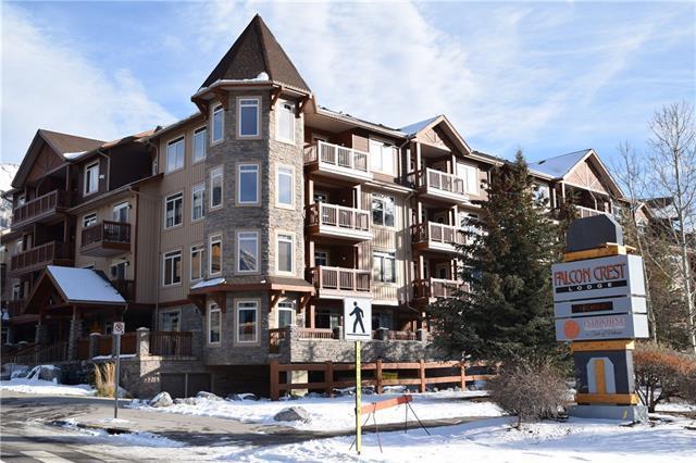 190 Kananaskis Way #212, Canmore, AB T1W 3K5 (#C4218245) :: Redline Real Estate Group Inc