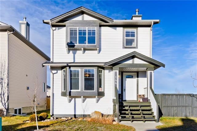144 Luxstone Place SW, Airdrie, AB T4B 3C2 (#C4218305) :: Redline Real Estate Group Inc