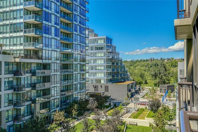 222 Riverfront Avenue SW #512, Calgary, AB T2P 0W3 (#C4218553) :: Redline Real Estate Group Inc