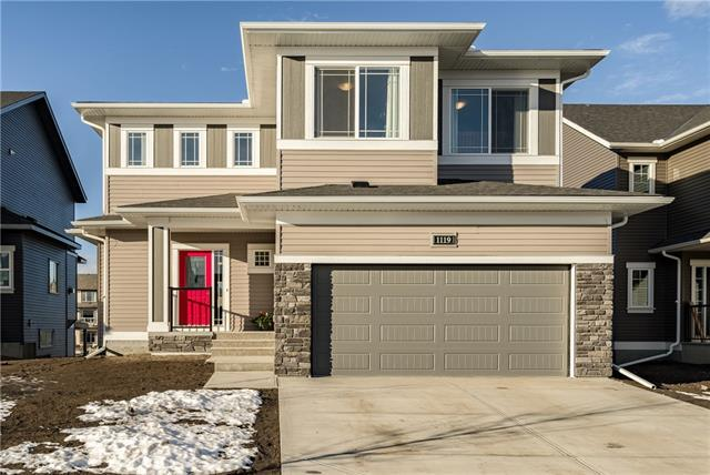 1119 Bayside Drive, Airdrie, AB T4B 4G8 (#C4218904) :: Canmore & Banff
