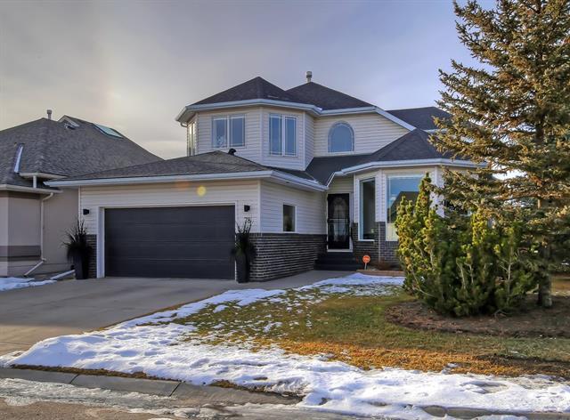 78 Sandstone Ridge Crescent, Okotoks, AB T1S 1R1 (#C4219085) :: Redline Real Estate Group Inc
