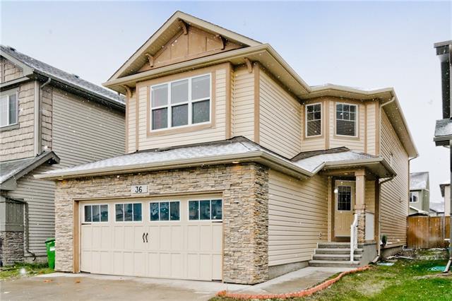 36 Skyview Shores Rise NE, Calgary, AB T3N 0C6 (#C4219313) :: Redline Real Estate Group Inc