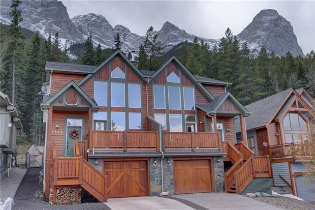 1117 Wilson Way, Canmore, AB T1W 3C5 (#C4219363) :: Canmore & Banff