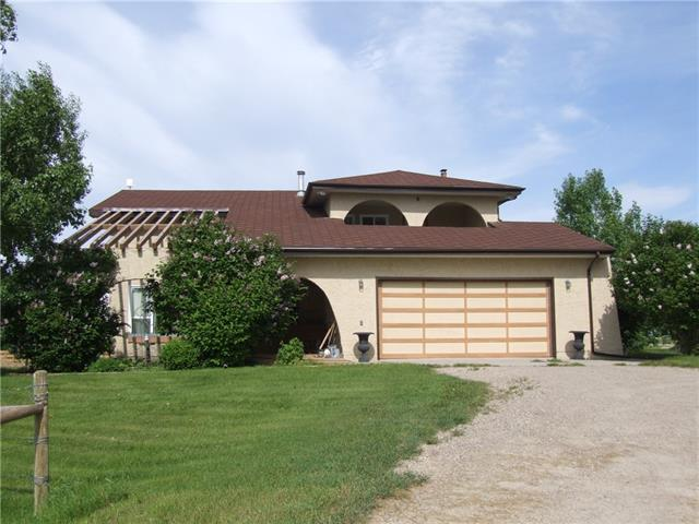 271060 Range Road 285, Rural Rocky View County, AB T4B 2A4 (#C4219473) :: The Cliff Stevenson Group