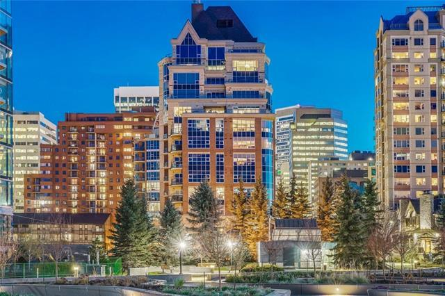 110 7 Street SW #1201, Calgary, AB T2P 5M9 (#C4219569) :: Canmore & Banff