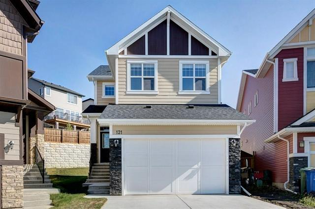 121 Heritage Cove, Cochrane, AB T4C 0G4 (#C4219570) :: Redline Real Estate Group Inc