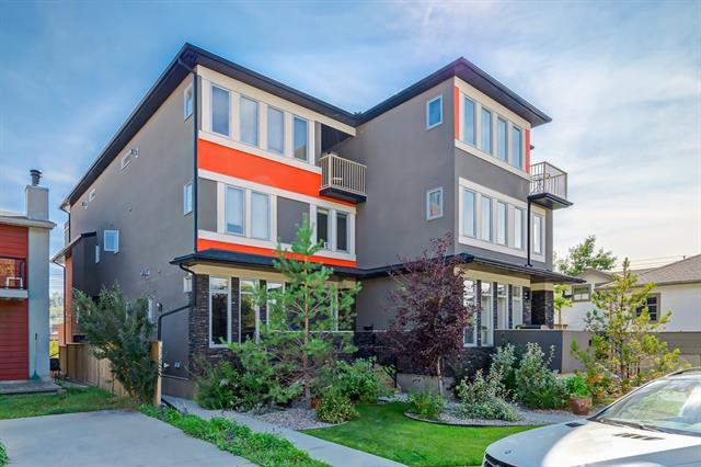 2623 1 Avenue NW #2, Calgary, AB T2N 0C5 (#C4219618) :: Calgary Homefinders