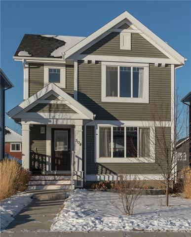 504 River Heights Green, Cochrane, AB T4C 0S1 (#C4219648) :: Canmore & Banff